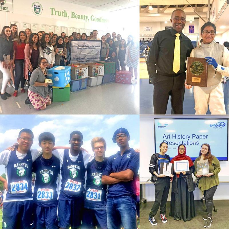 Maspeth High School In The News . . . School Spotlight Featured Photo