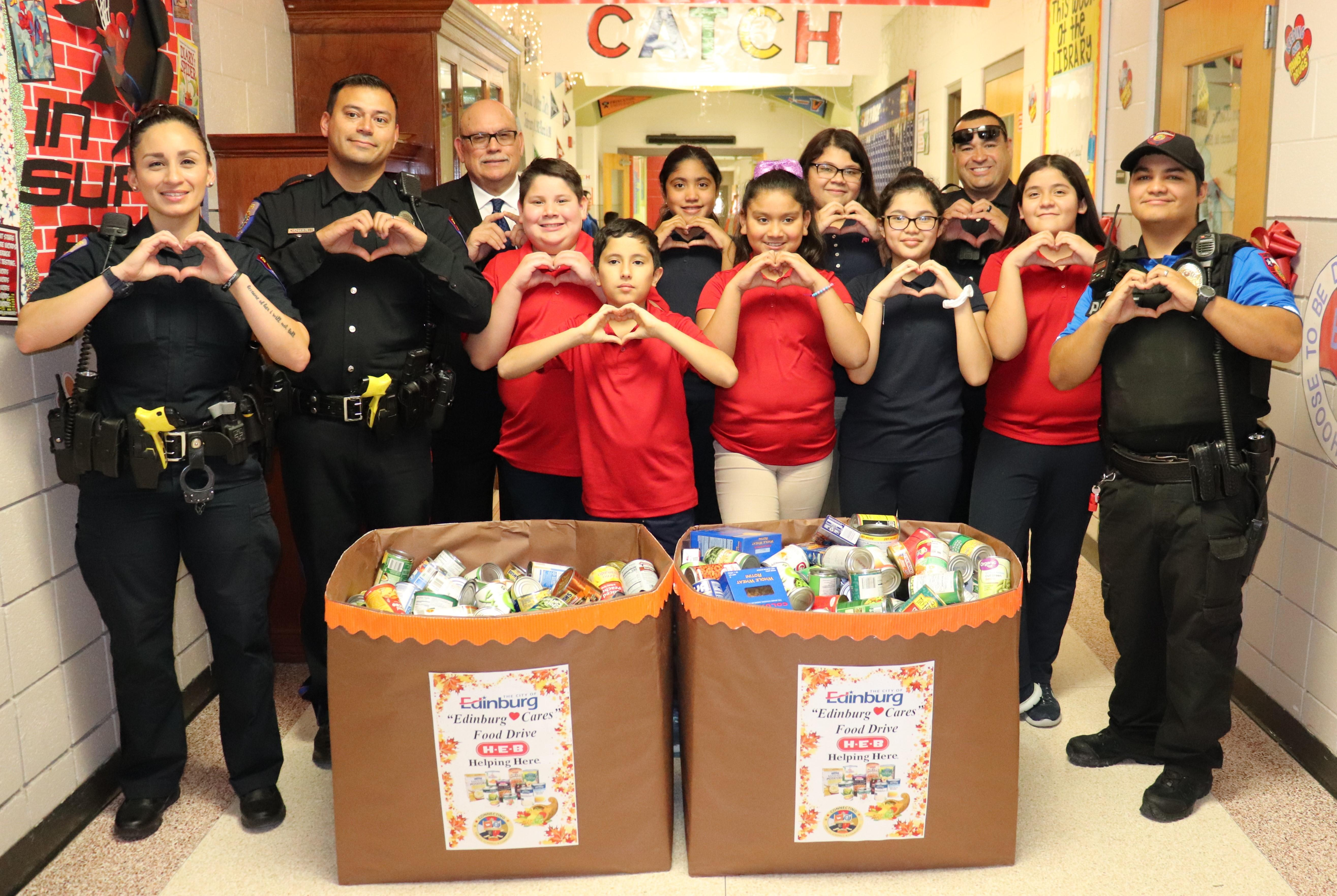 Image of Student Council food drive