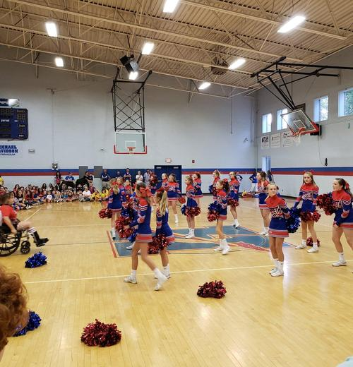 Pep Rally Cheer