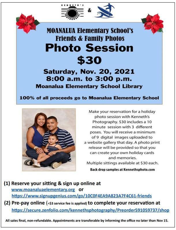 Family Photo Session on November 20, 2021