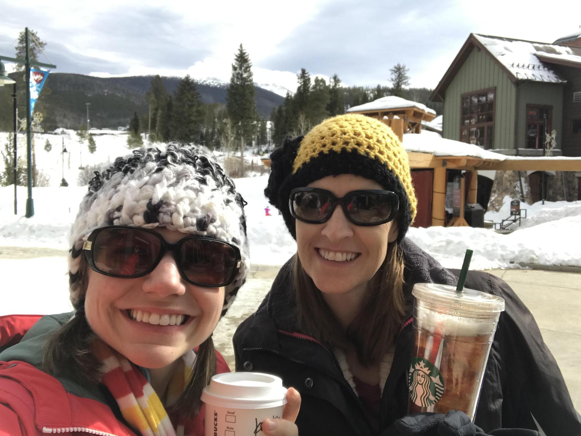 Starbucks with Ms. Cutshall