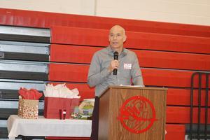 Superintendent Speaking at banquet