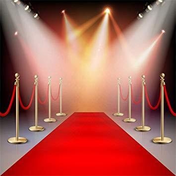 Image of red carpet rolled out