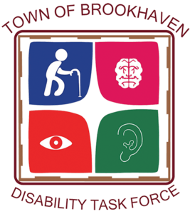 Town of Brookhaven Disability Task Force Logo