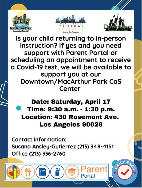 Parent Portal Workshop for all families Featured Photo