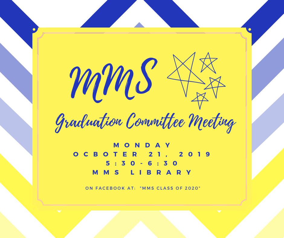 graduation comittee meeting poster