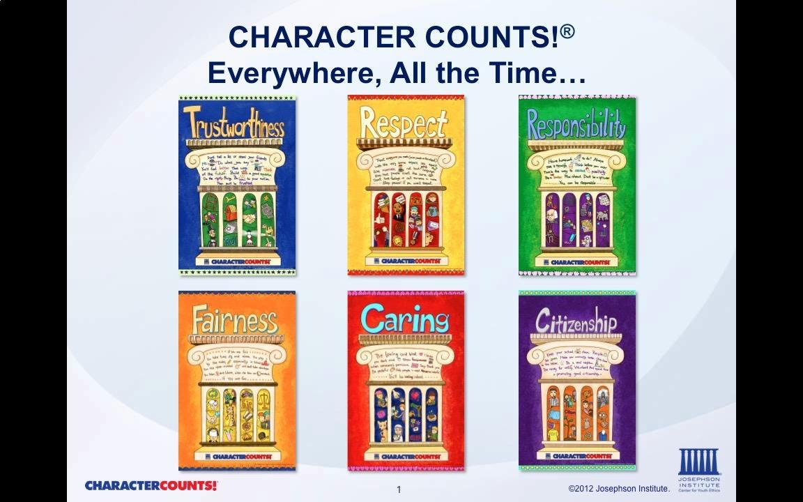 six pillars of Character counts