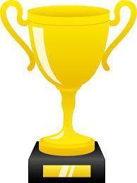clip art of a trophy