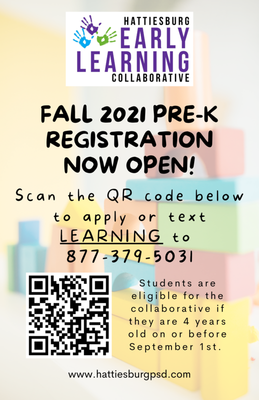 Fall 2021 Pre-K Registration is Now Open! Featured Photo