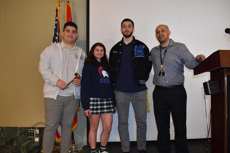 AGBU MHS Participates in the Junior State of America (JSA) Featured Photo