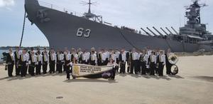 ehs band at battleship