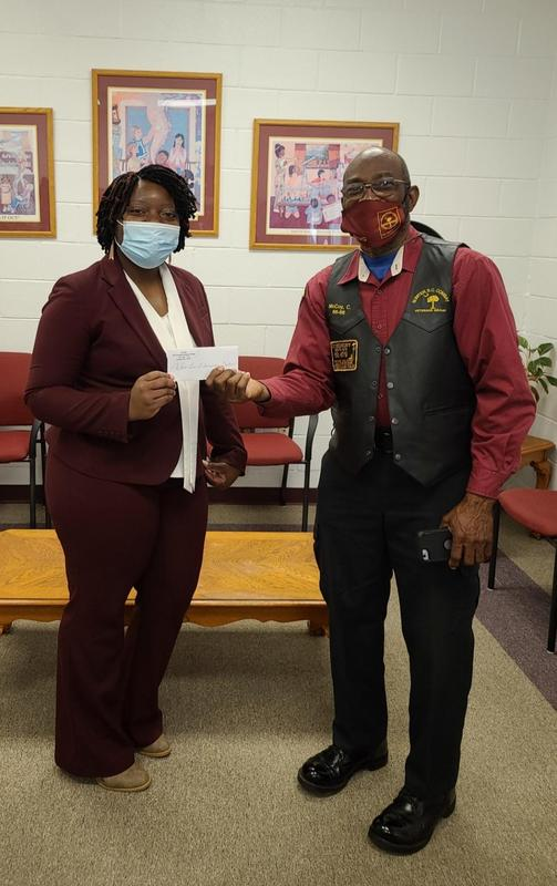 Dr. Bradley and the Sumter SC Veterans Group