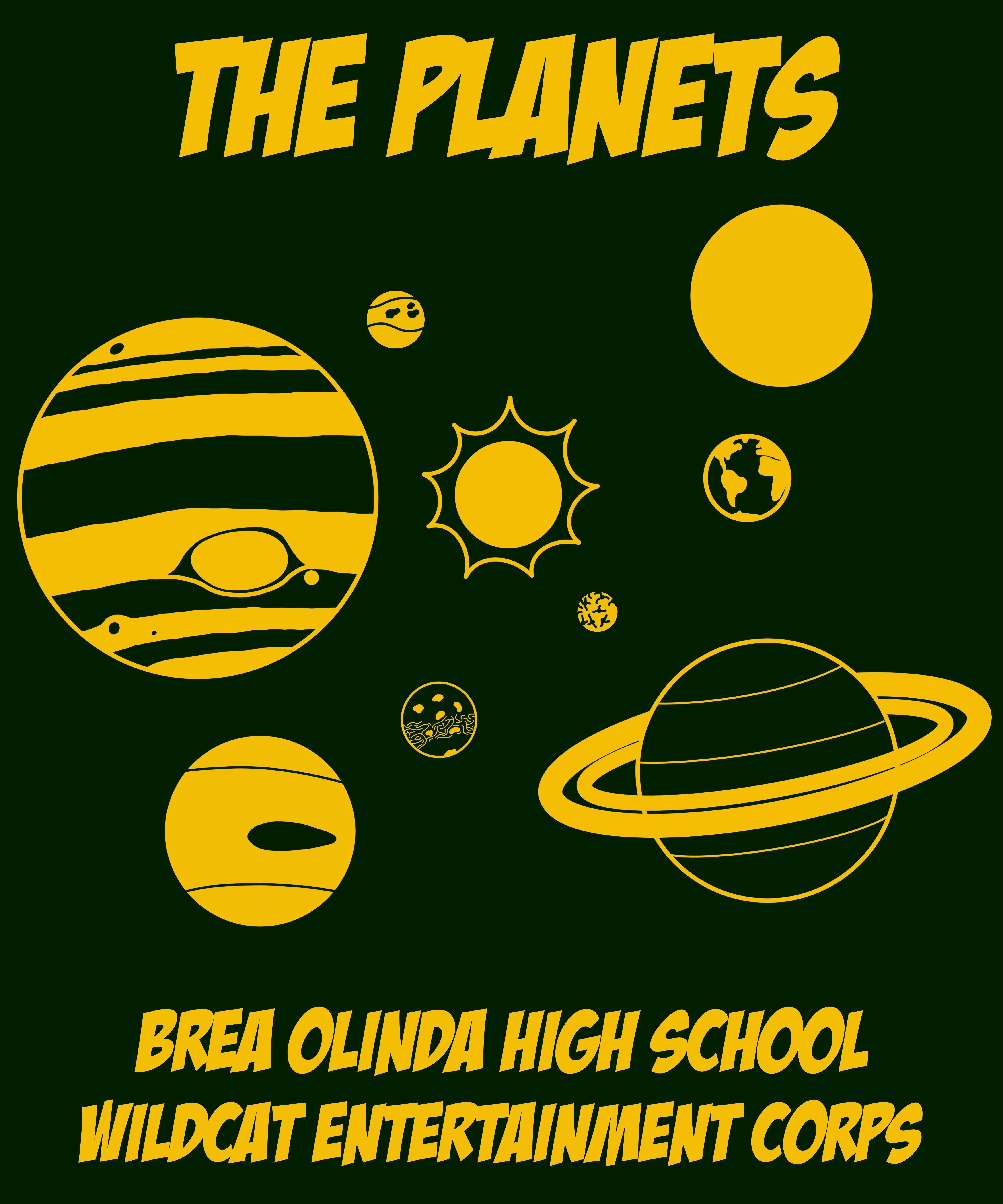 2020 Show: The Planets