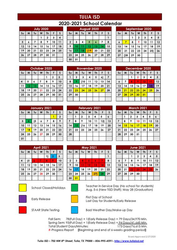 Superintendent's Letter - 2020/2021 School Calendar Update Thumbnail Image