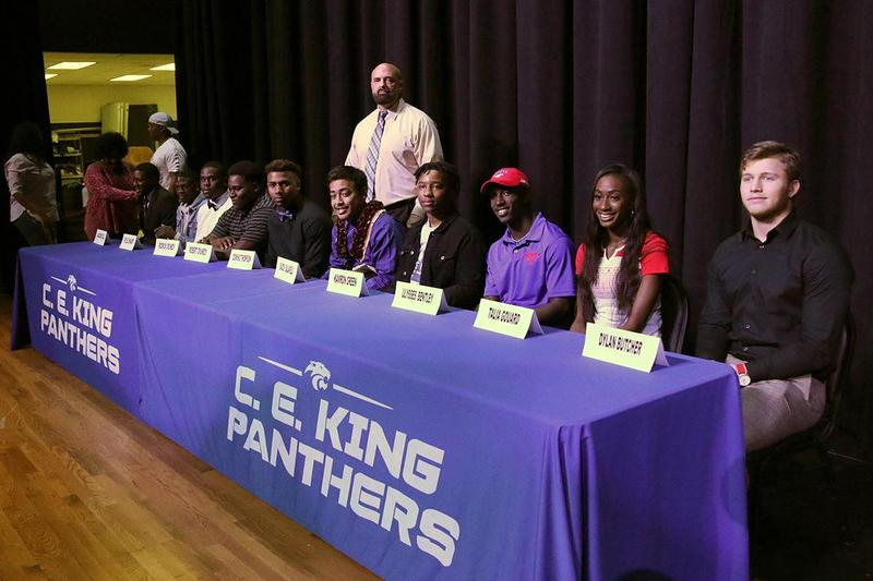 KHS athletes sign letters of intent on National Signing Day Featured Photo