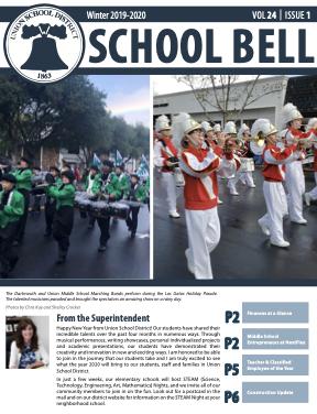 School BELL newsletter cover