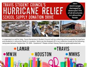 School Supply Fundraiser