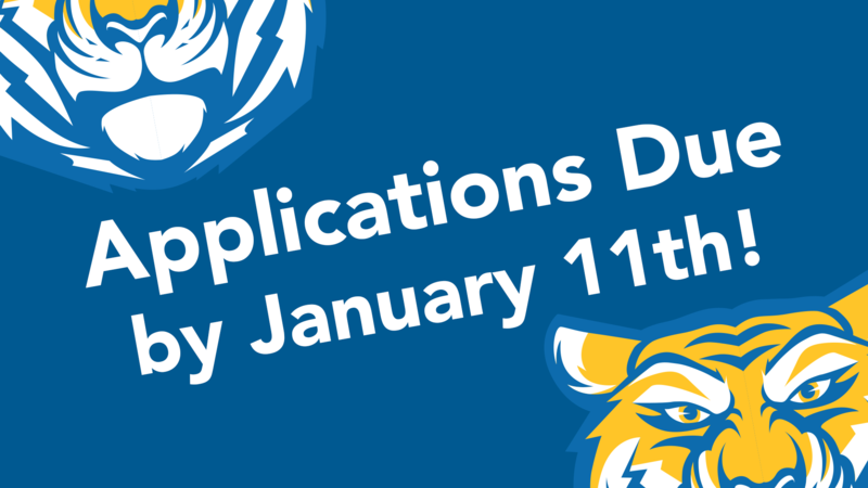 Applications Due by Jan. 11, 2019 (Submit Here) Thumbnail Image