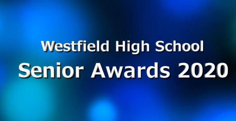Screenshot of Senior Awards Night graphic.