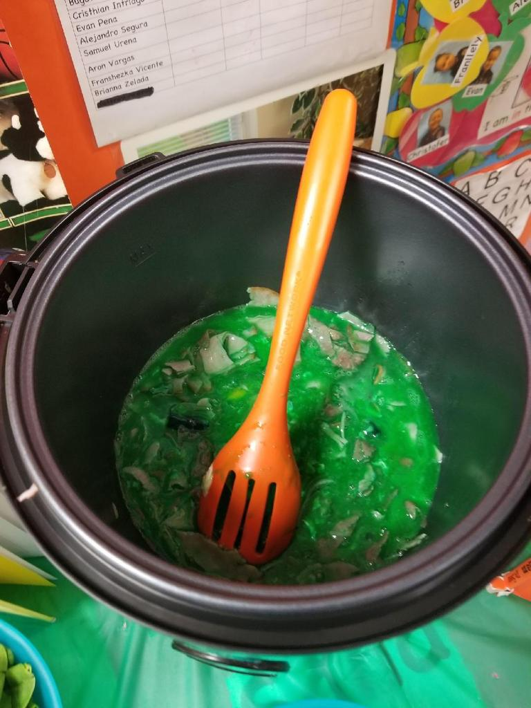 green eggs and ham in slow cooker