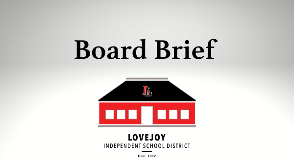 Message from Mike: May 11, 2020 Board Brief Featured Photo