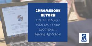 Chromebook return