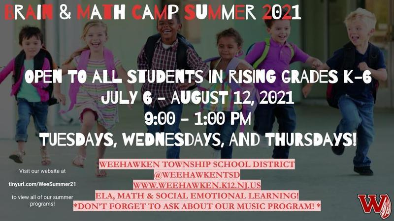 Brain and Summer Camp - Summer 2021