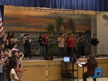 3rd grade music program - Grammar Rocks!