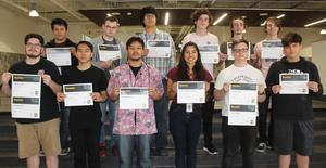 Students who achieved IT certifications