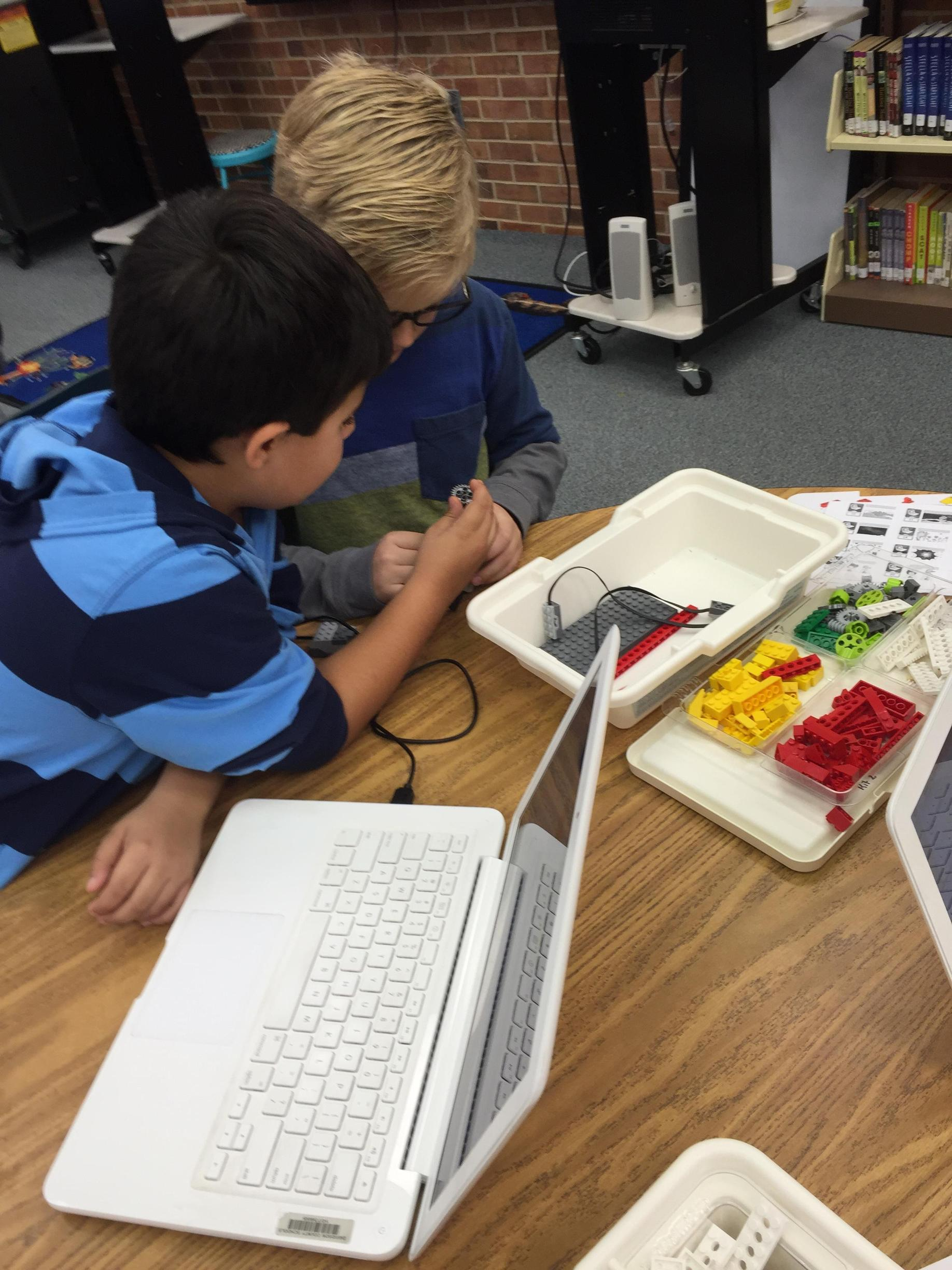 WeDo Lego Robotics to cover Forces and Motion