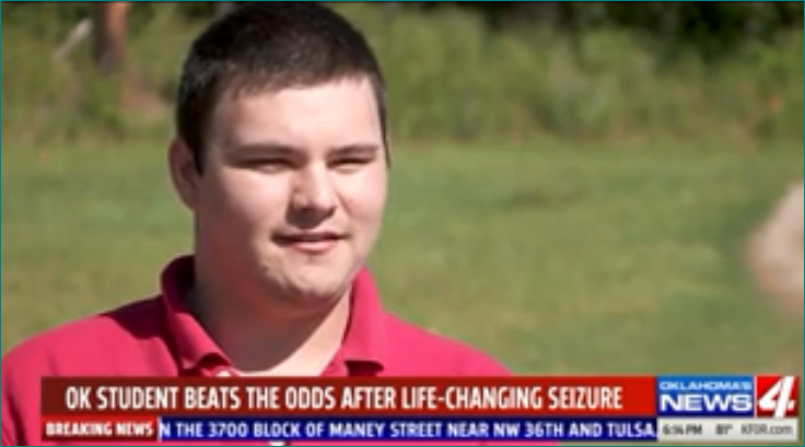 After years of epileptic seizures, Blanchard student beating the odds Featured Photo