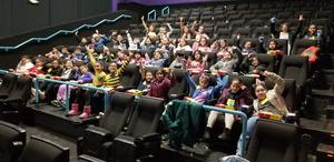Honor Roll students at Dumbo Movie