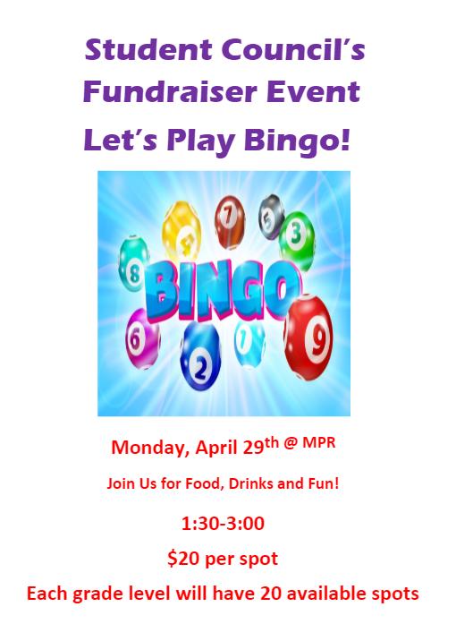 Kids Bingo Flyer