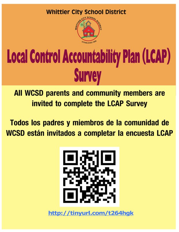 LCAP Parent Survey