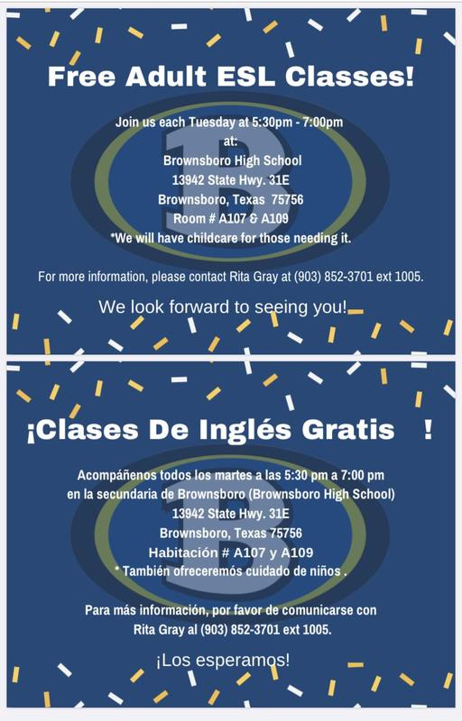 Free Adult ESL Classes Featured Photo