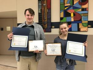 FR students earn Emmy Awards for videos.