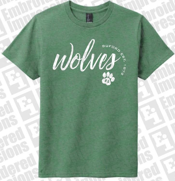 Green Wolves Tee