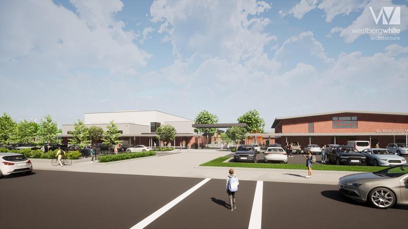El Segundo Middle School Gymnasium Construction to Begin Fall 2021 Featured Photo