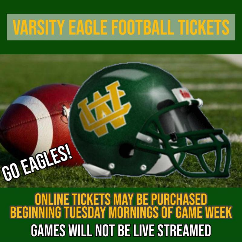 Varsity Eagle Home Football Tickets Thumbnail Image