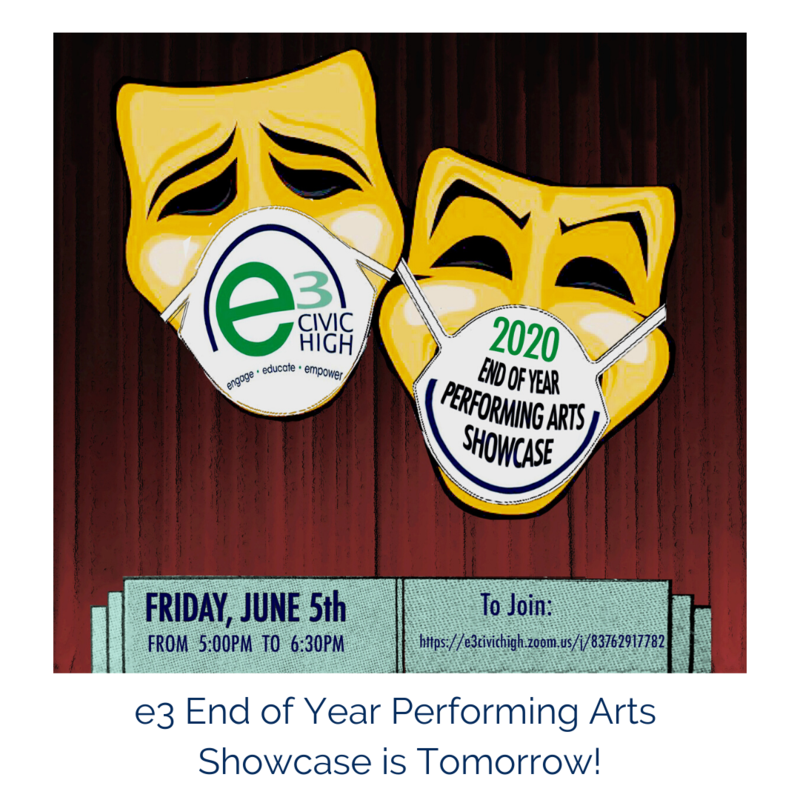 Performing Arts End of Year Showcase Featured Photo