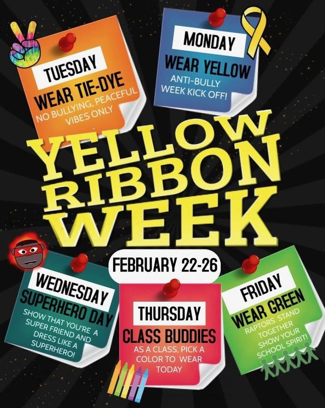 Yellow Ribbon Week Flyer