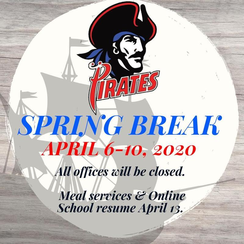 Spring Break April 6-10