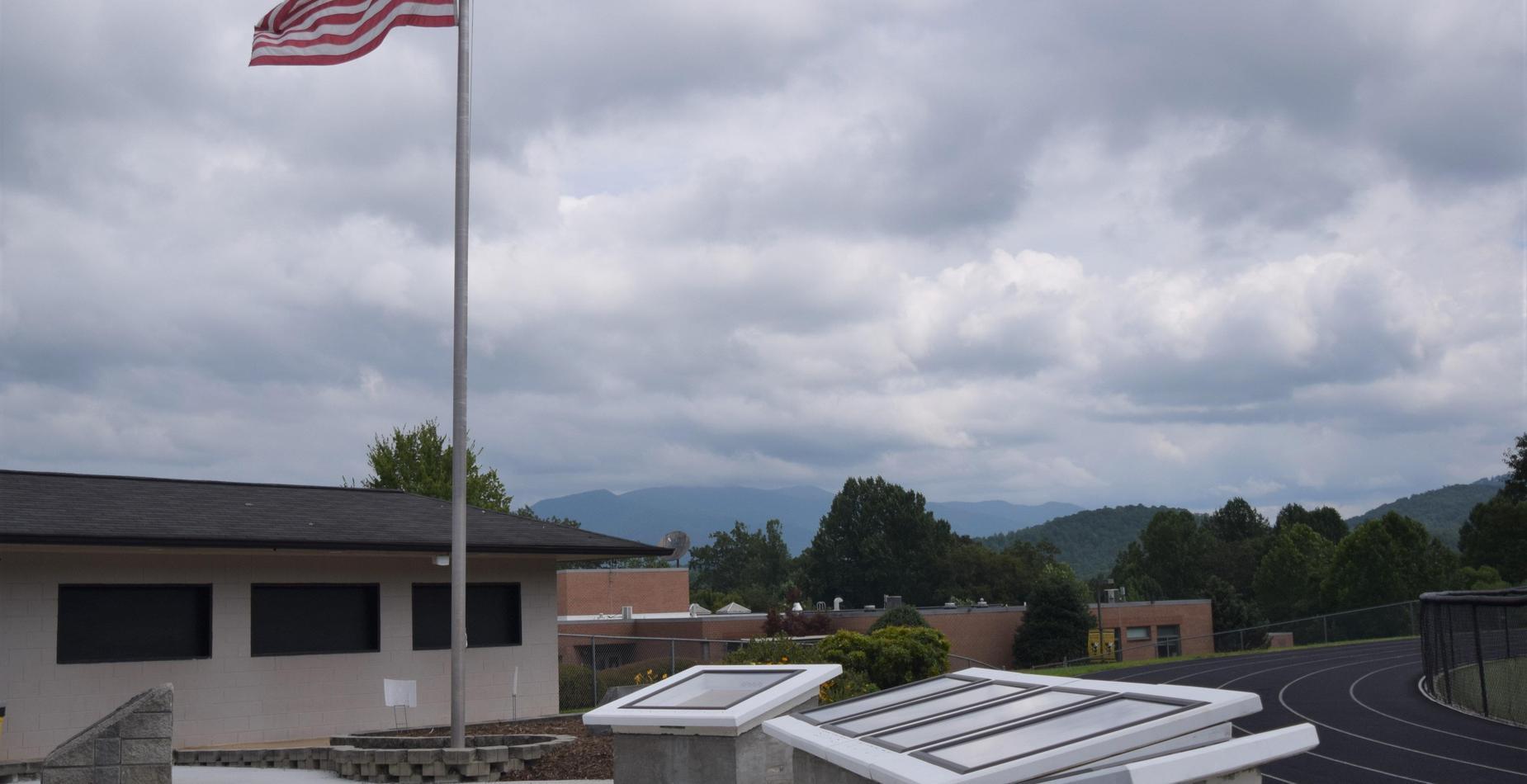 HHS Flag Pole