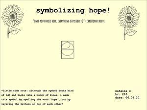 Poetry of Hope by Natalie