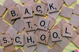Scrabble Back To School Tiles