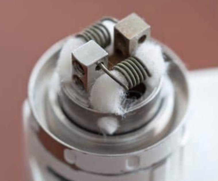 cotton and wires for vaping