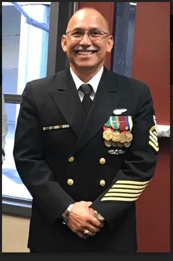 Chief Ed Aguiar smiling for the camera