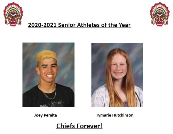 2020 -2021 Athletes of the Year