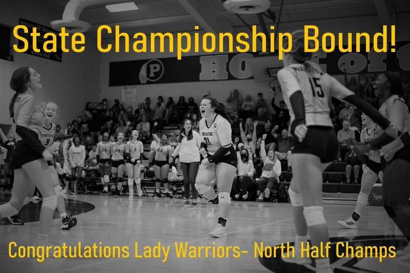 Volleyball wins North Half