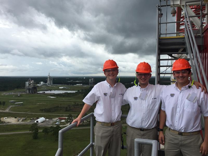 Three Seniors Explore Stennis Space Center Featured Photo